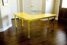 Custom Office desk~under $50 - Capturing Joy with Kristen Duke