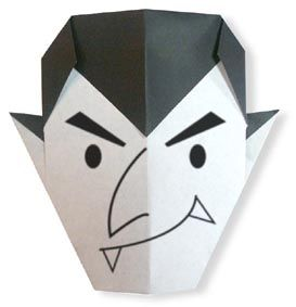 Origami Dracula(face)