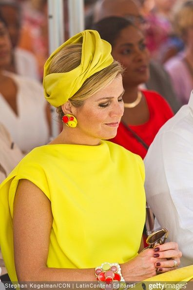 Queen Maxima and King Willem-Alexander attends Dia di Rincon in Bonaire