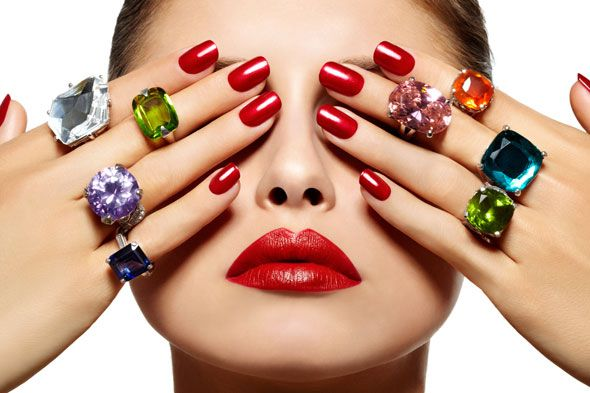 Nails and rings