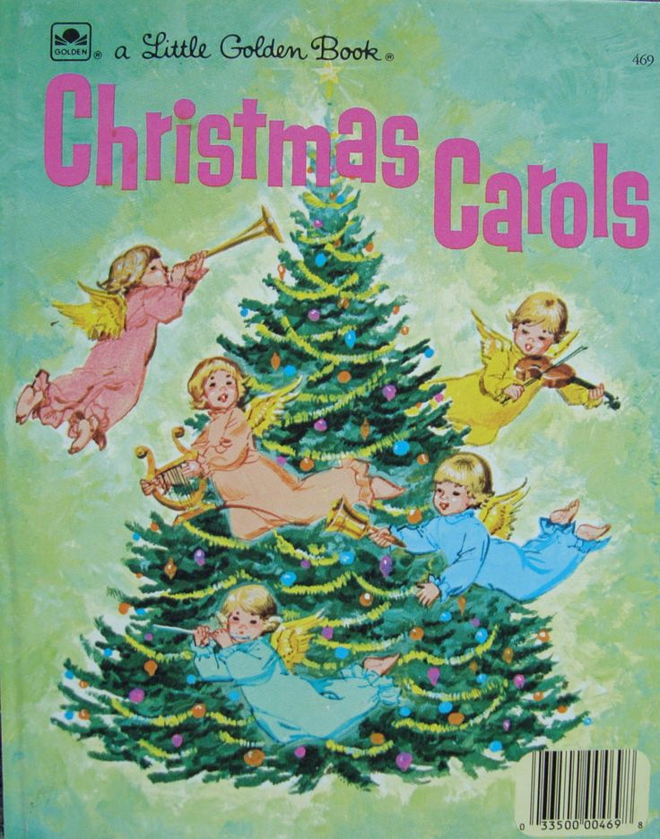 Christmas Carols - Children's Picture Storybook - a Little Golden Book by OfftheShelf2015 on Etsy
