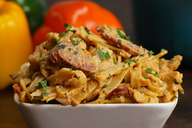 Cajun Chicken Alfredo: Add some southern charm to your pasta.
