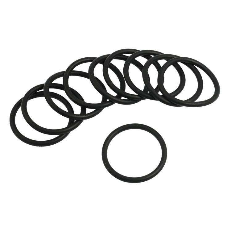 UXCELL 10 Pcs Black Nitrile Rubber Sealing O Ring Seal Washer Grommets 2.4Mm X 29Mm #Affiliate