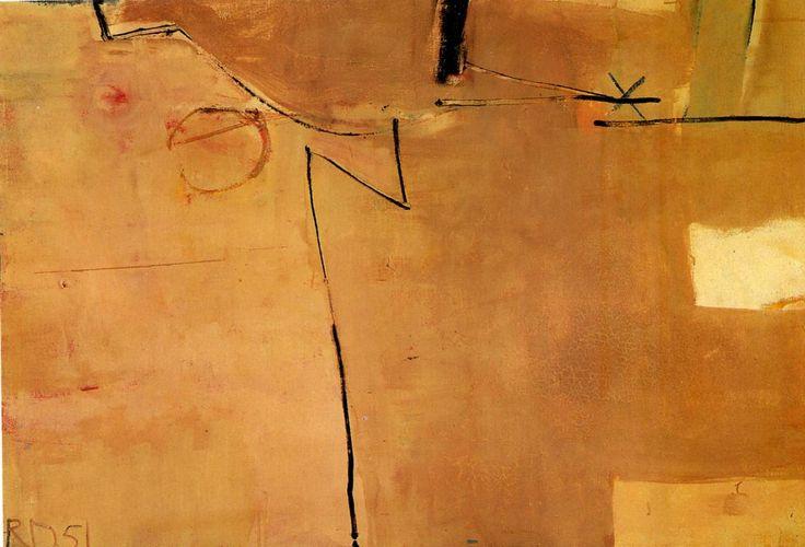"""Ричард Дибенкорн, англ. Richard Diebenkorn, (22 апреля 1922 года, Портленд, Орегон — 30 марта 1993 года Беркли, Калифорния). """"Абстракционизм - abstract art"""" в социальных сетях - http://www.1abstractart.com/---abstract-art"""