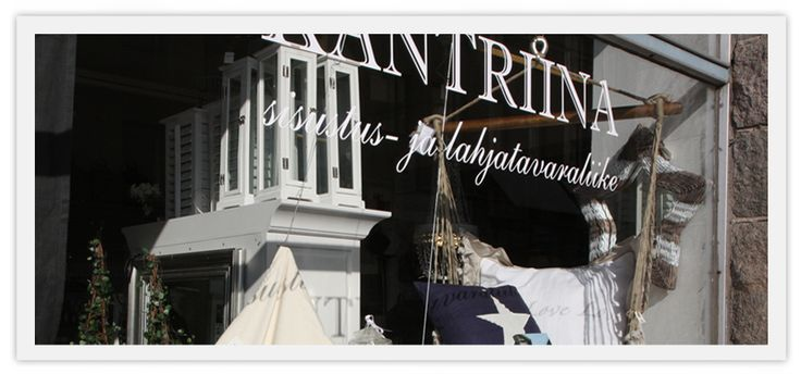 Sisustusliike Kantriina - Interior design & gifts Tampere Finland