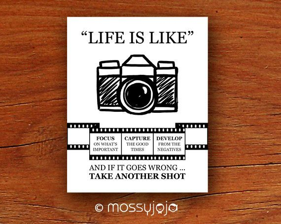 life is camera art inspirational quotes wall quotes by