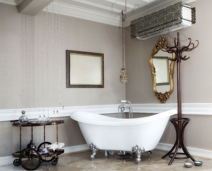 Victorian Bathroom Mirror