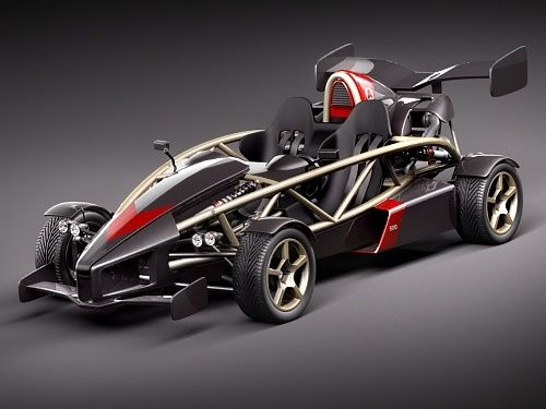 The Ariel Atom... one of the coolest cars that I have ever seen. I'm usually not into cars, but this thing is frakking amazing!