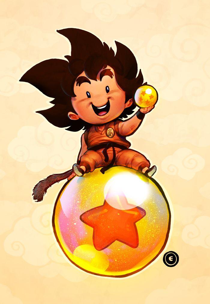 Goku Dragon Ball by MaxGrecke