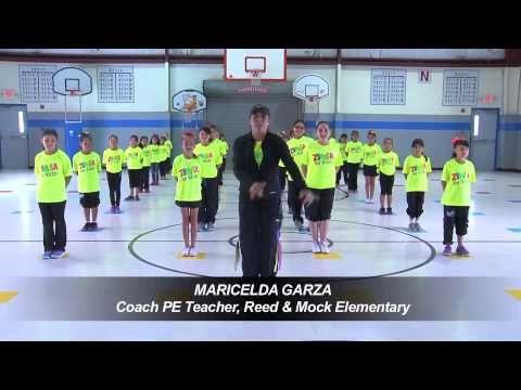 Reed & Mock Elementary Zumba for Kids - YouTube