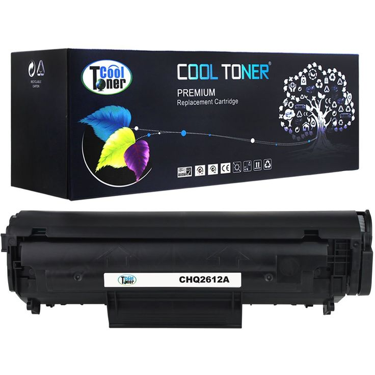Cool Toner 1PK Compatible Black Toner Cartridge Replacement for HP Q2612A 12A Compatible with HP LaserJet 1010 1012 1015 1018 1020 1022 3015 3020 3030 3050 3052 3055 M1319F MFP (Black, 1-Pack)