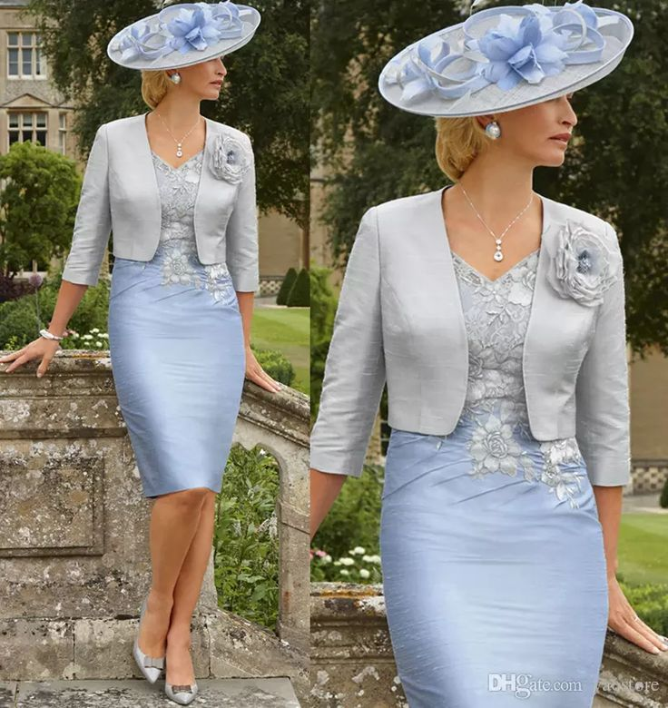 2017 Rose Appliqued Mother Of The Bride Dresses 3/4 Sleeves Sheath Wedding Guest Dress Knee Length Plus Size Jacket Mothers Groom Gown Chic Appliqued Mother Of The Bride Dress 2017 Sleeves Peplum Wedding Guest Dress Plus Size Jacket Mothers Groom Gowns Online with $128.0/Piece on Yaostore's Store | DHgate.com
