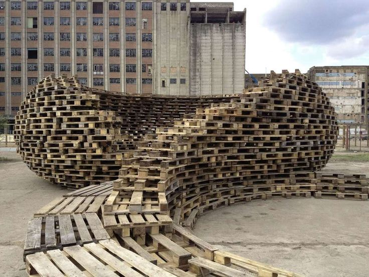 262 best pallets images on pinterest landscape Wood architecture definition