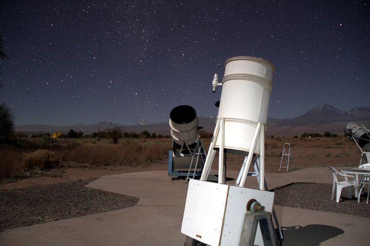 Tour de observação do céu do Atacama, no norte do Chile (foto: Eduardo Vessoni)