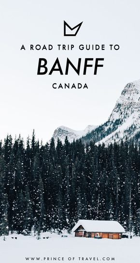 What's it like driving through Banff National Park in Canada? Here's a road trip guide so you can see for yourself! #banff #canada