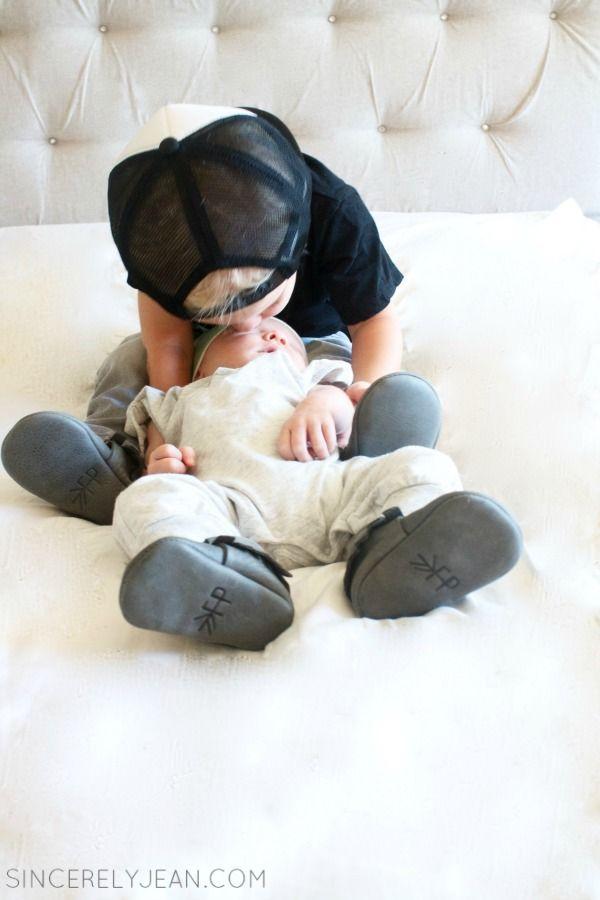 Baby boy fashion - Freshly Picked Moccasins Giveaway - www.SincerelyJean.com
