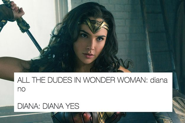 Wonder Woman | Diana yes