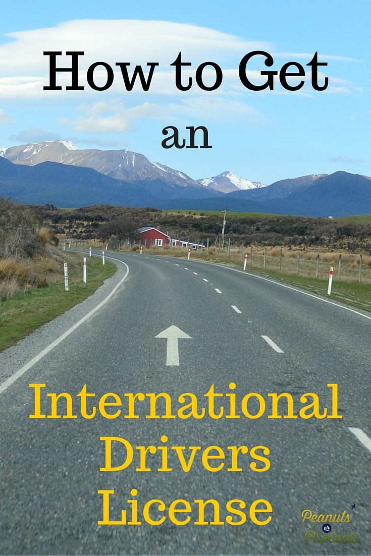How to get an International Drivers License -