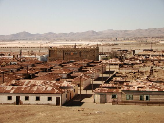 Location: Humberstone, Chile Abandoned Since: 1960 --- [THE 10 GHOST TOWNS IN THE WORLD – PART 2]