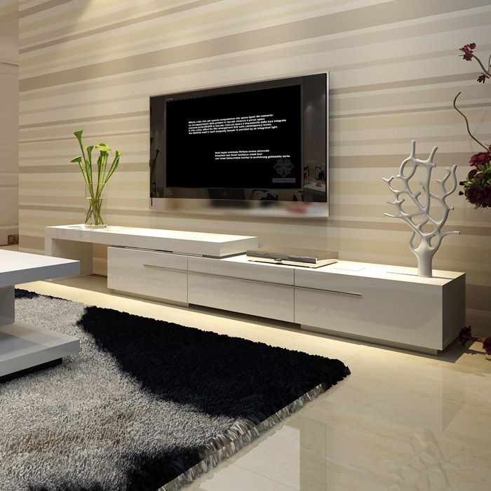 Best 25 cheap tv stands ideas on pinterest buy tv stand - Retractable tv cabinet living room furniture ...