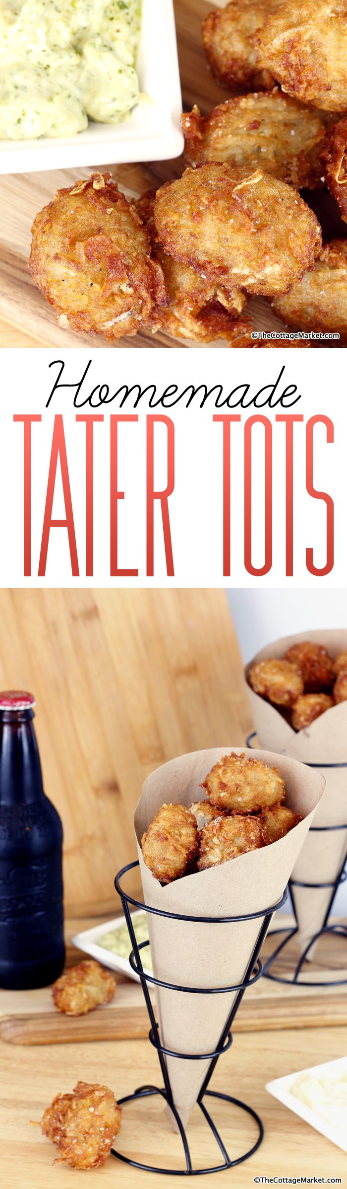 Homemade Tater Tots - The Cottage Market