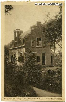 Beetsterzwaag, Cornelia-Stichting. Tuinmanswoning