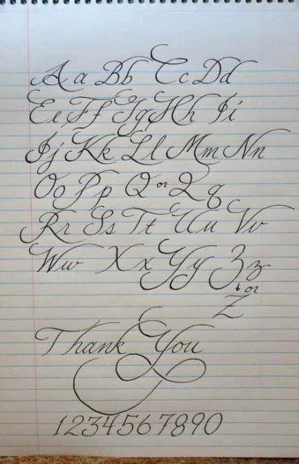 Tatuagem Fontes Letras Alfabeto Scripts 61 Idéias   – Schriften