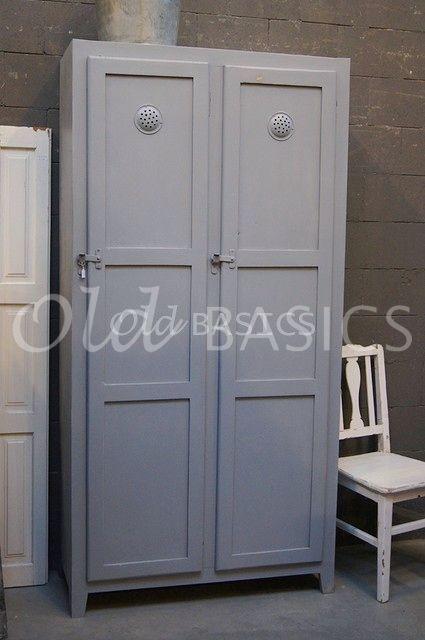 Lockerkast Ives licht grijs | 1-1504-022 | Old BASICS