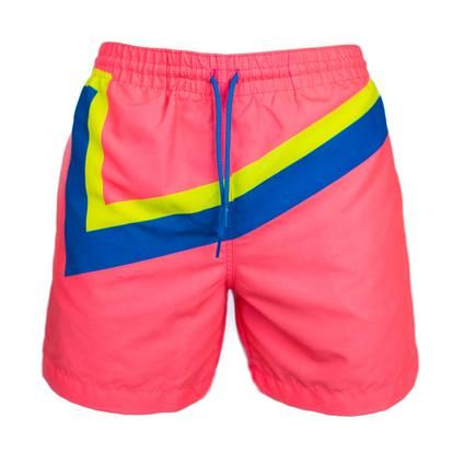 Neon Lights | Chubbies Men's Navy Printed Swim Trunks – Chubbies Shorts