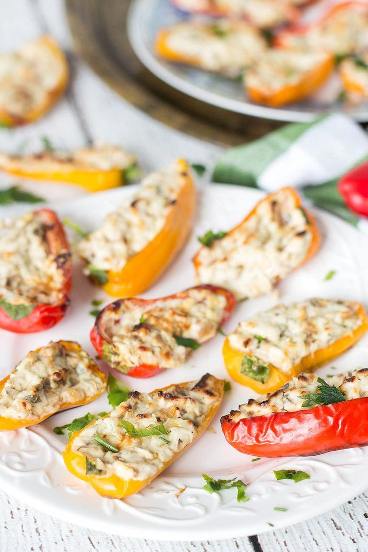 These delicious and colorful mini-peppers stuffed with cream cheese are …   – Homemade Appetizers