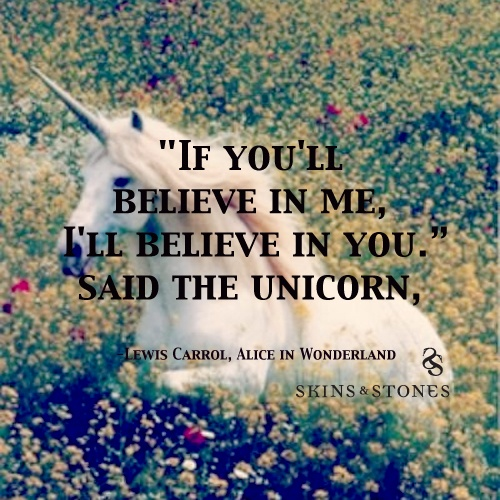 Unicorn Quote From Alice In Wonderland By Lewis Carrol