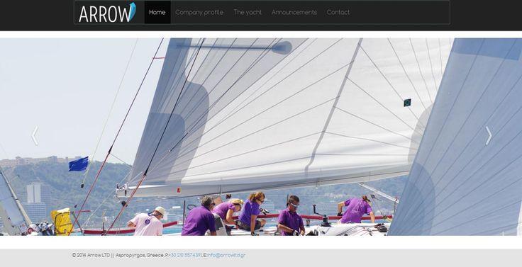 Η All about Business ολοκλήρωσε την ιστοσελίδα της εταιρείας ενοικίασης σκαφών ARROW LTD http://www.arrowltd.gr. Δείτε όλες τις τελευταίες δημιουργίες μας στο παρακάτω Link http://goo.gl/ff7D2p