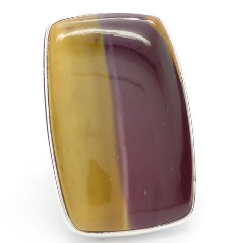 Ring Mookaite | 925 Sterling Silver | West Australia Jasper | Dreamtime Travel Stone | Ancestral or Blood line Spirits | Crystal Heart Australia Alternative Gems since 1986