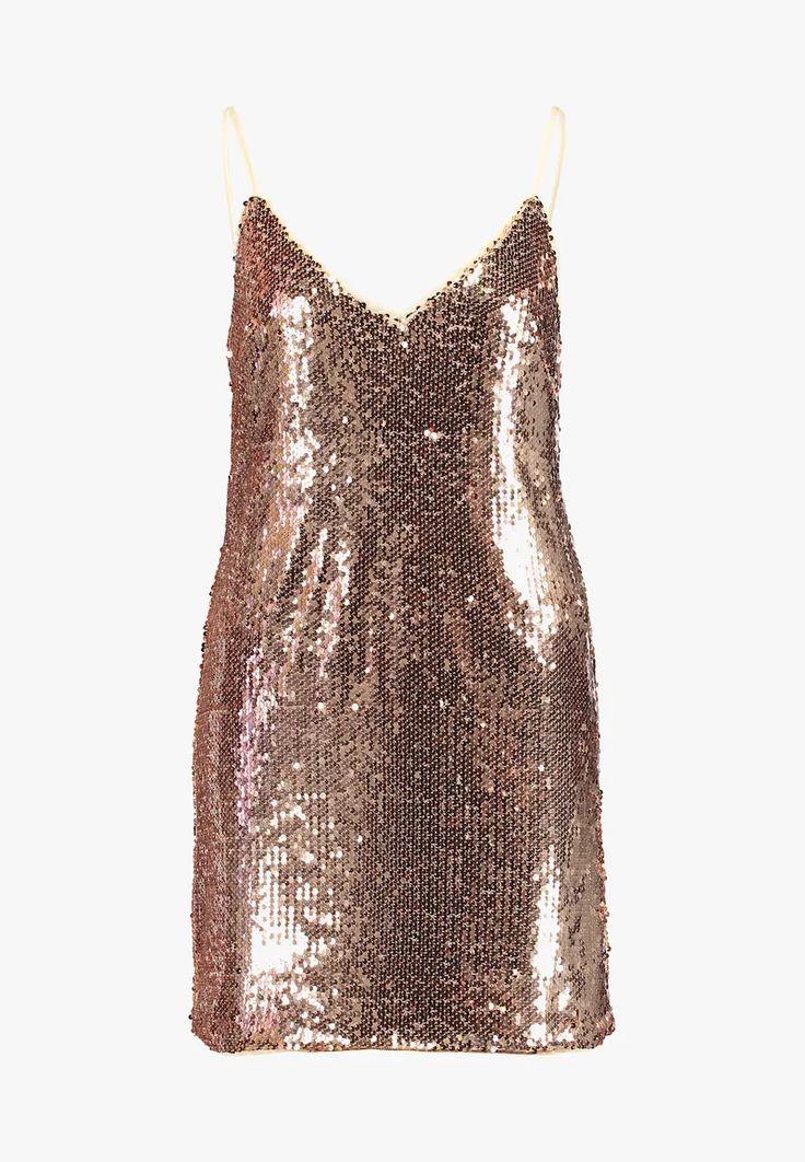 honey punch sequin spaghetti strap mini dress