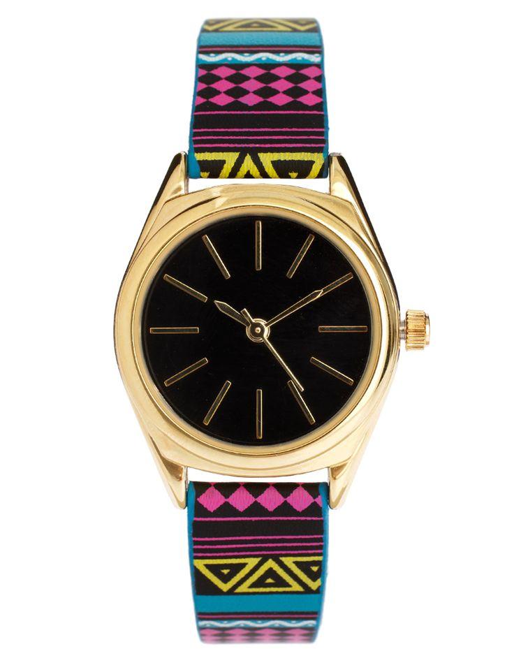 Aztec: Asos Com, Asos Aztec, Fashion Outfits, Aztec Bright, Aztec Watches, Aztec Prints, Bright Watches, Fashion Accessories, Asos Fashion