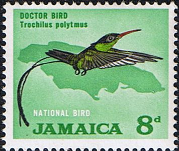 Jamaica 1964 Doctor Bird Fine Mint SG Scott 224 Other West Indies and British Commonwealth Stamps HERE!