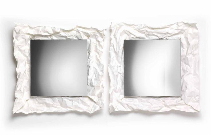 NEWS 2016 WOW by Mogg / Design by Uto Balmoral, 2016 Specchio da parete con cornice in feltro di cellulosa sintetica, da stroppicciare a piacimento. Wall mirror with frame in synthetic cellulose felt, to mold as like. #mogg #moggdesign #Wow #UtoBalmoral #WallMirror #mirror #felt #frame #personalised #specchio #SpecchioParete #cornice #feltro #ComeVuoiTu #Interior #Design #InteriorDesign #ItalianFurniture #Italian #Furniture 