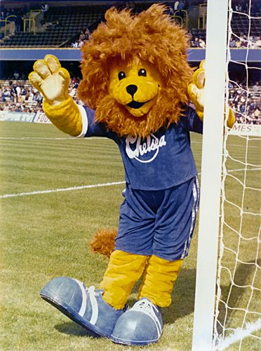 The original Chelsea FC mascot Stamford created in 1980
