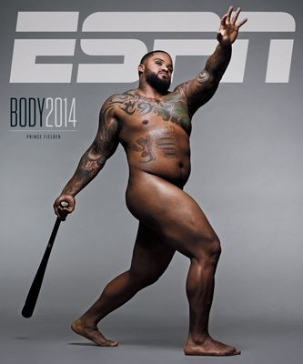 MLB Prince Fielder....ESPN The Magazine (July 21)