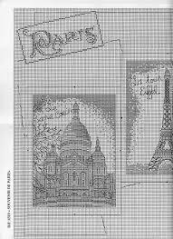 Resultado de imagen para patron de arco de triunfo en paris para bordar punto cruz