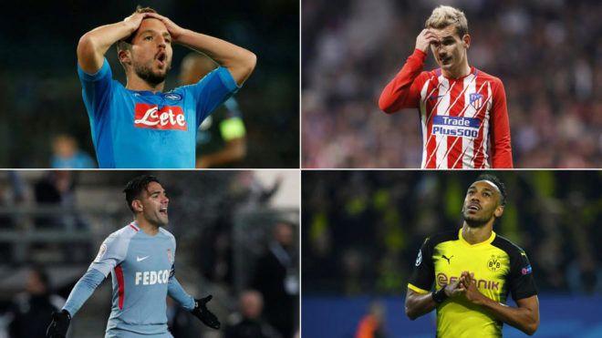 Champions League: Lo que queda por decidir en la Champions: Nápoles, Mónaco, Atlético y Dortmund, al borde de la eliminación | Marca.com http://www.marca.com/futbol/champions-league/2017/11/21/5a131dec268e3e82058b45db.html