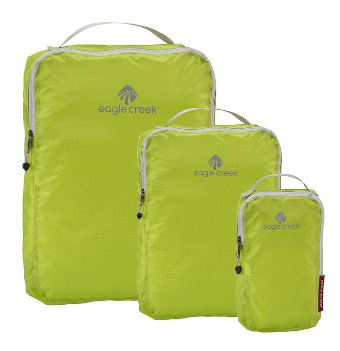 Amazon.com: Eagle Creek Pack It Specter Cube Set , White/Strobe, 3pc Set: Clothing