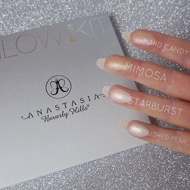 Gleam Glow Kit @rachleary  #anastasiabeverlyhills #abhglow