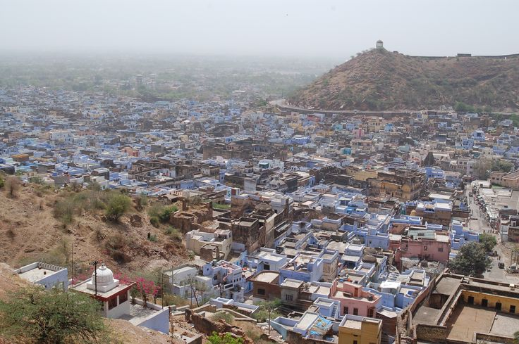 View of Bundi from Taragarh Fort
