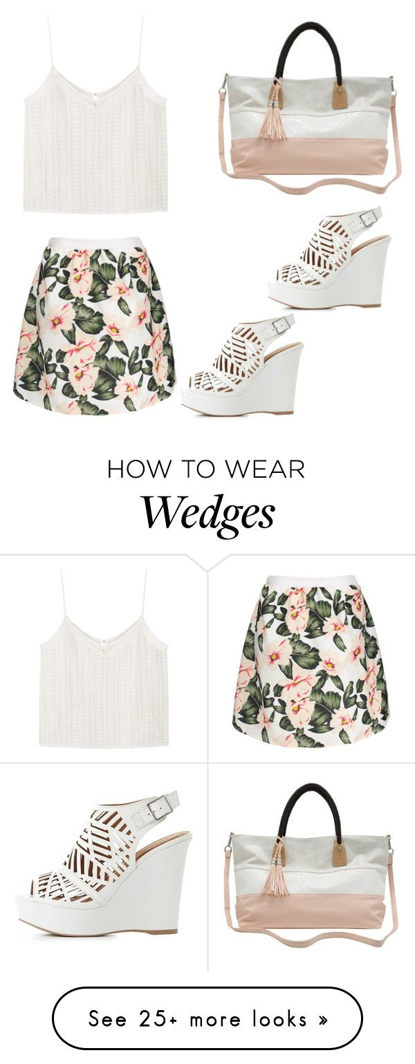 """""""Untitled #282"""" by gllaciier on Polyvore featuring M&Co, Charlotte Russe and MANGO"""