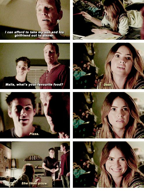 "Teen Wolf Season 04 Episode 11 ""A Promise to the Dead"" Sheriff Stilinski, Malia and Stiles"