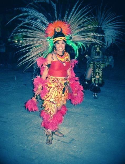 C E E F B B F C D F on Aztec Indian Dancers