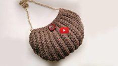 Örgü El Çantası Modelleri Yapımı – Videolu Anlatımla El İşi Çanta Yapımı