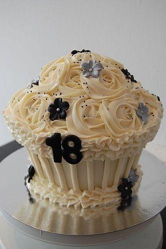 Sweet sixteen cupcake idea