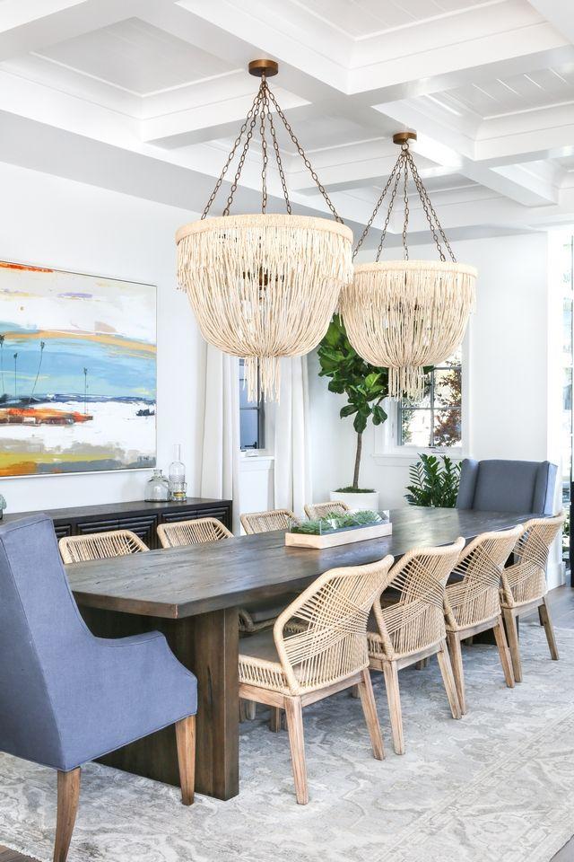 Interior Design Ideas Modern Coastal Shingle Home Coastal Dining Room Dining Room Design Dining Room Remodel Coastal living decor dining rooms